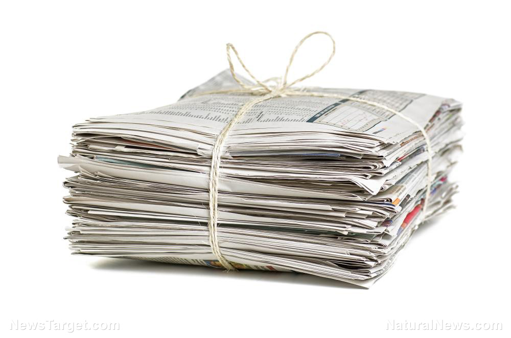 practical uses for newspapers for when shtf